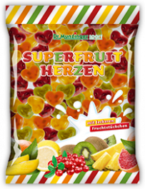 Super Fruit Herzen